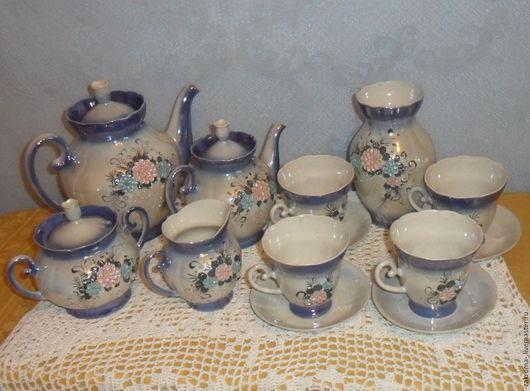 Винтажная посуда. Ярмарка Мастеров - ручная работа. Купить Посуда для чаепития. Чайный сервиз.. Handmade. Комбинированный, чайная пара