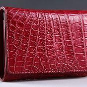 Сумки и аксессуары handmade. Livemaster - original item Wallet crocodile leather IMA0216H5. Handmade.