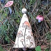 Сувениры и подарки ручной работы. Ярмарка Мастеров - ручная работа Колокольчик Когда цветут грибы. Handmade.