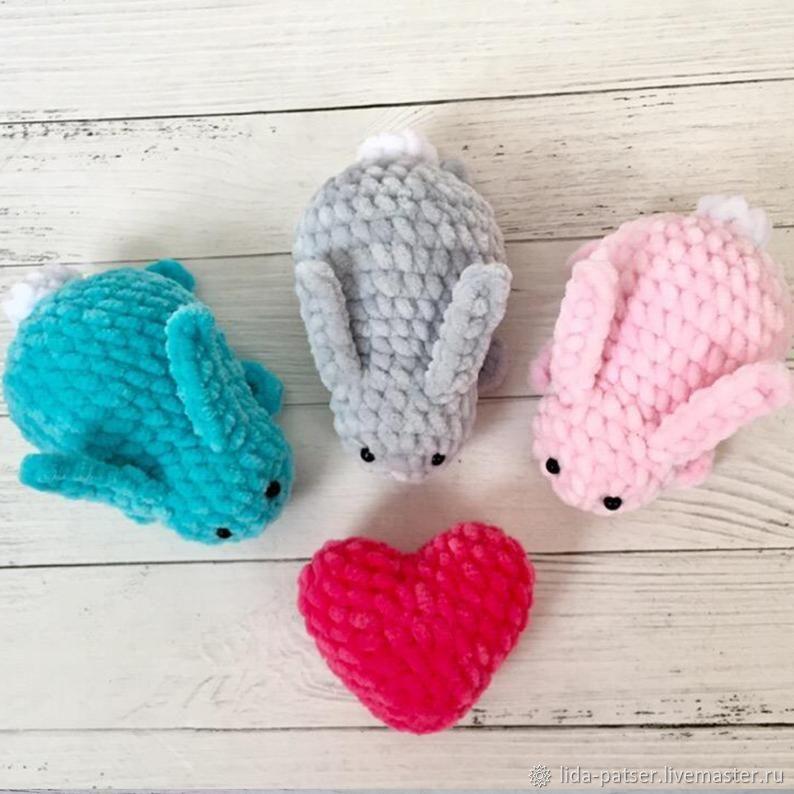 Кролик игрушка брелок, Пасхальные сувениры, Пермь,  Фото №1