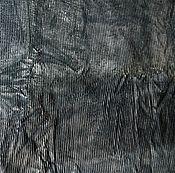 Материалы для творчества ручной работы. Ярмарка Мастеров - ручная работа Вельвет хлопковый советский в крупный рубчик серый Цена за отрез. Handmade.