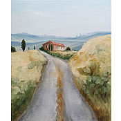 Картины и панно handmade. Livemaster - original item Oil painting Tuscan Landscape. Handmade.