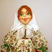 Для дома и интерьера ручной работы. Ярмарка Мастеров - ручная работа Кукла пакетница Наденька уехала домой. Handmade.