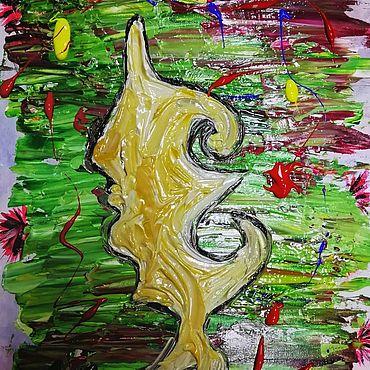 Картины и панно ручной работы. Ярмарка Мастеров - ручная работа Фантазия автора. Handmade.