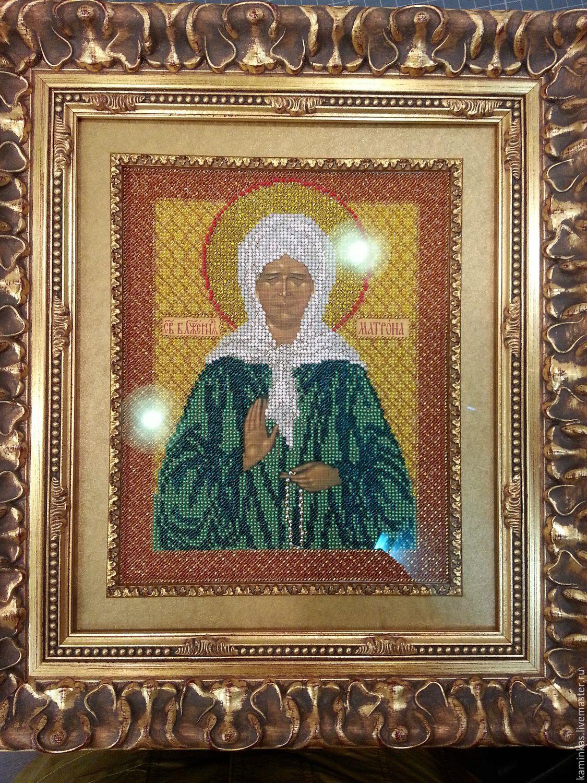Блаженная Матрона Московская купить икону