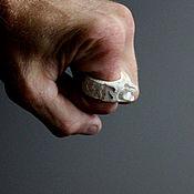 Фен-шуй и эзотерика ручной работы. Ярмарка Мастеров - ручная работа Перстень Дракон (рог лося )ло5.. Handmade.