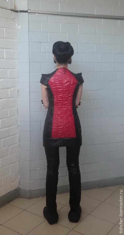 """Платья ручной работы. Ярмарка Мастеров - ручная работа. Купить Платье - куртка  SPORT """" Дайвинг"""". Handmade. Черный, Футуризм"""