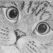 Картины и панно ручной работы. Ярмарка Мастеров - ручная работа Животные и графика. Handmade.