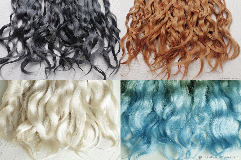 Козочка - остатки – купить на Ярмарке Мастеров – MADBORU | Волосы для кукол, Борское