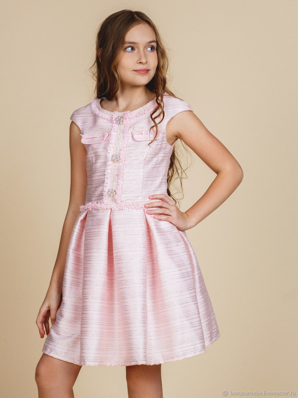 """Платье в стиле шанель для девочки """"Диана"""""""