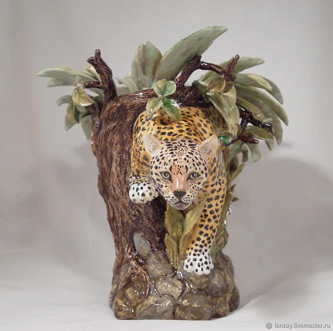 Ваза Леопард