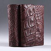 Сумки и аксессуары handmade. Livemaster - original item Wallet crocodile leather IMA0123VK5. Handmade.