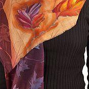 Аксессуары ручной работы. Ярмарка Мастеров - ручная работа шарф Краски осени. Handmade.