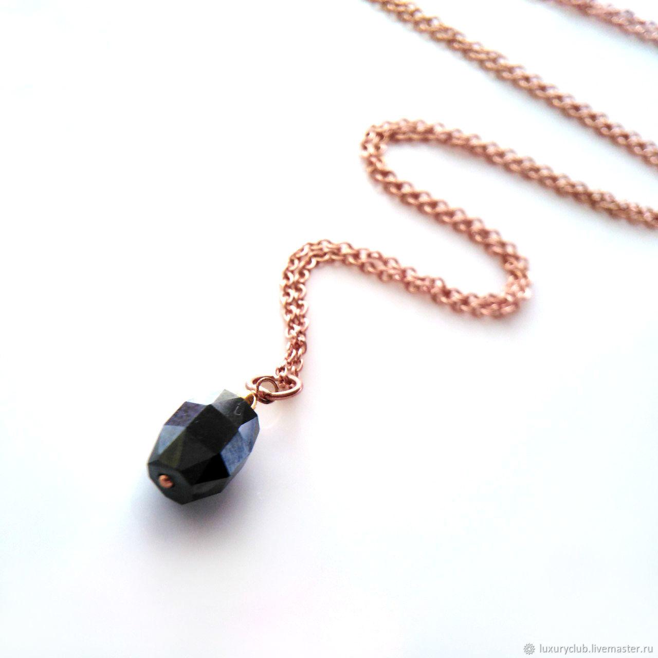 Чёрный бриллиант кулон «Звездный», Колье, Тольятти,  Фото №1