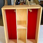 Подарки ручной работы. Ярмарка Мастеров - ручная работа Коробка на две бутылки.. Handmade.