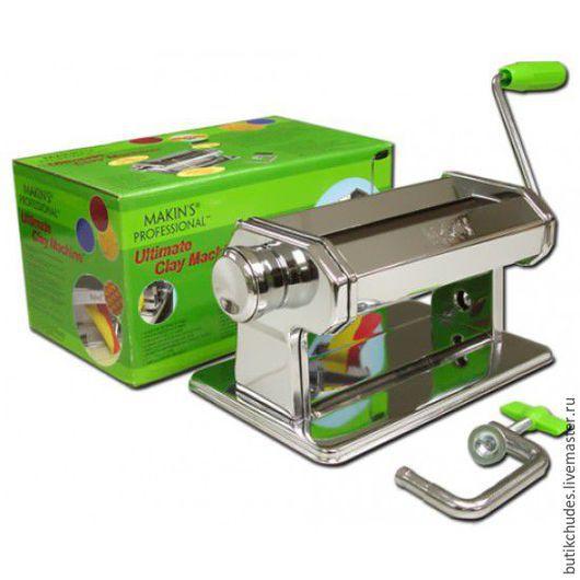 Паста-машина для раскатывания полимерной глины износостойкая MKINS