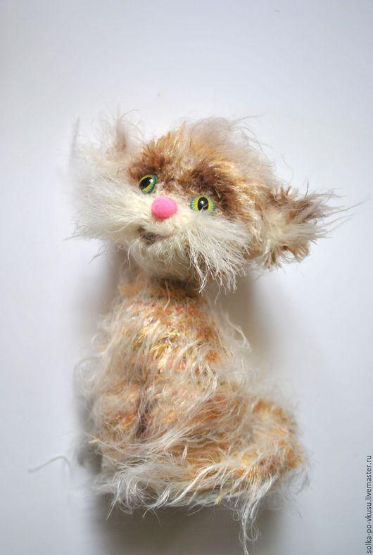 Куклы и игрушки ручной работы. Ярмарка Мастеров - ручная работа. Купить Пушистик. Handmade. Бежевый, котик, кот в подарок