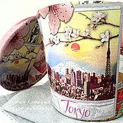 """Цветы и флористика ручной работы. Ярмарка Мастеров - ручная работа Цветочный горшок """"Токио"""". Handmade."""