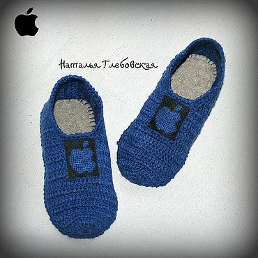 """Обувь ручной работы. Ярмарка Мастеров - ручная работа Тапочки """"Apple"""".. Handmade."""