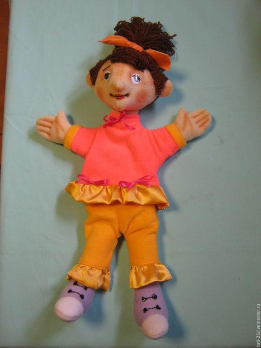 Кукольный театр ручной работы. Ярмарка Мастеров - ручная работа. Купить Иринка. Перчаточная кукла со сменной одеждой.. Handmade.