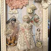 Тедди Долл ручной работы. Ярмарка Мастеров - ручная работа Тедди Долл: Flower. Handmade.