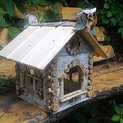 """Для домашних животных, ручной работы. Ярмарка Мастеров - ручная работа Кормушка """"Пряничный домик"""". Handmade."""