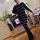 """Платья ручной работы. Платье вязаное """"Ассиметрия"""". Tatyana Maslakova. Ярмарка Мастеров. Платье вязаное, длинное платье, трикотажное платье"""