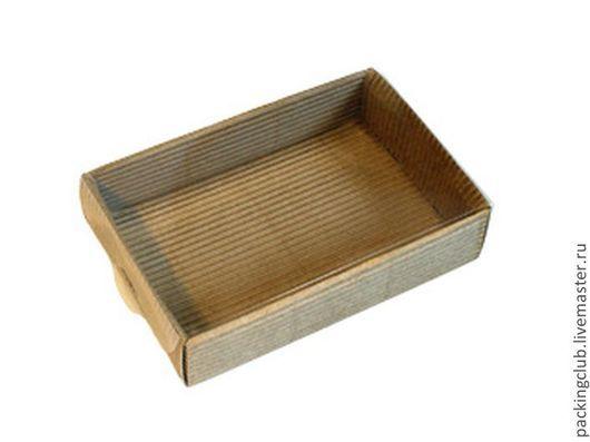 Упаковка ручной работы. Ярмарка Мастеров - ручная работа. Купить коробка   с прозрачной крышкой 150х100х33мм. Handmade. Крафт, упаковка для мыла