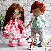 Куклы и игрушки ручной работы. Ярмарка Мастеров - ручная работа Куколки малыши - карандаши. Handmade.