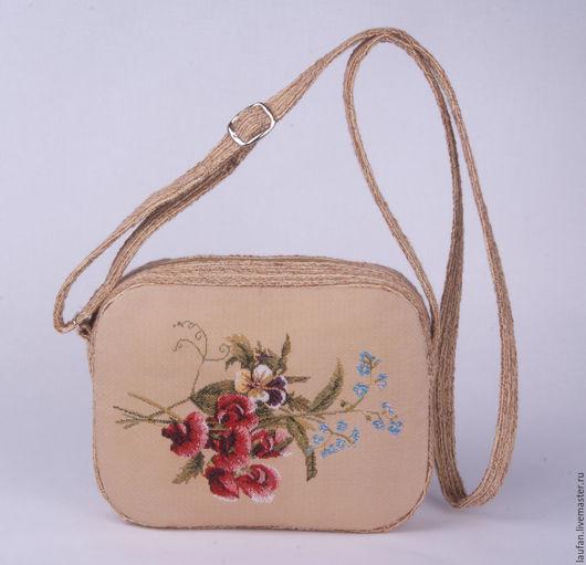 """Женские сумки ручной работы. Ярмарка Мастеров - ручная работа. Купить """"Львиный зев"""" сумка через плечо из гобелена (65м). Handmade."""