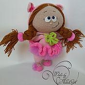 Куклы и игрушки ручной работы. Ярмарка Мастеров - ручная работа Кукла Малышка Бонни в костюме свинки. Handmade.