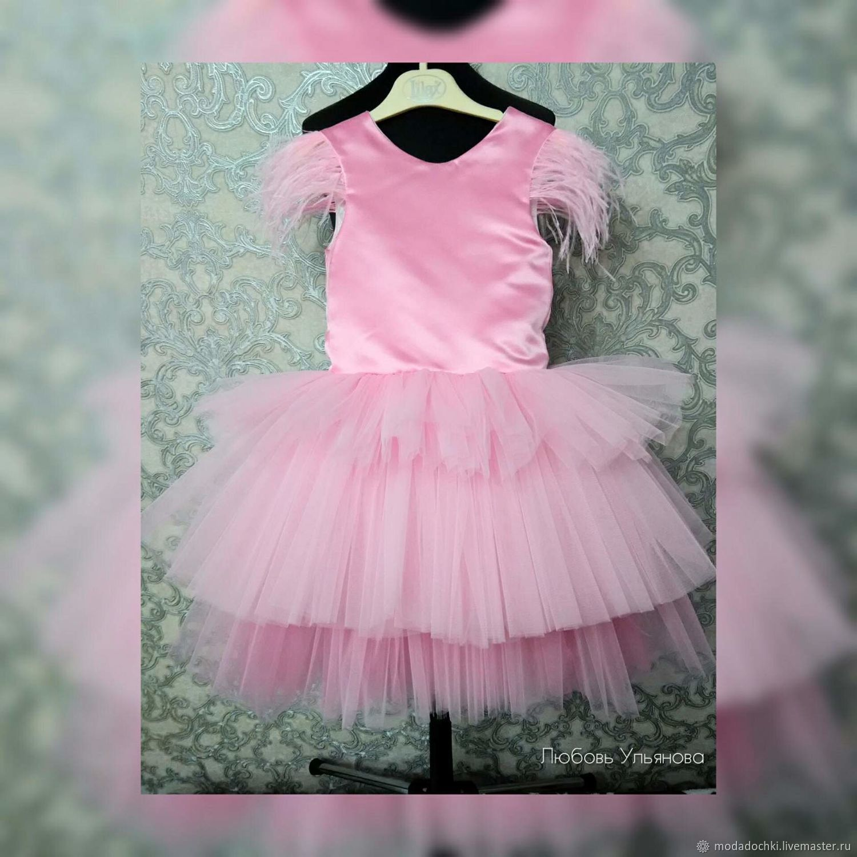 """Платье """"Розовый фламинго"""""""
