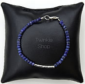 handmade. Livemaster - original item Bracelet sapphire. Handmade.