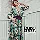 """Платья ручной работы. Платье с принтом """"пейсли"""". Dudu-dress. Ярмарка Мастеров. Геометрия, платье длинное, шикарное платье"""