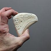 Гребешок костяной Викинг (рог лося).з9
