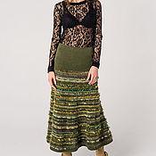Одежда ручной работы. Ярмарка Мастеров - ручная работа Авторская юбка ``Миллитари``. Handmade.