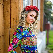 """Одежда ручной работы. Ярмарка Мастеров - ручная работа Платье """" Карусель"""". Handmade."""