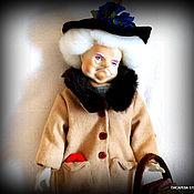 """Винтаж ручной работы. Ярмарка Мастеров - ручная работа Кукла """"Старушка  с сумкой"""". Handmade."""
