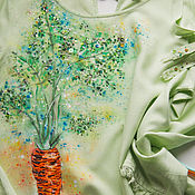 Одежда handmade. Livemaster - original item Tunic Carrot. Handmade.
