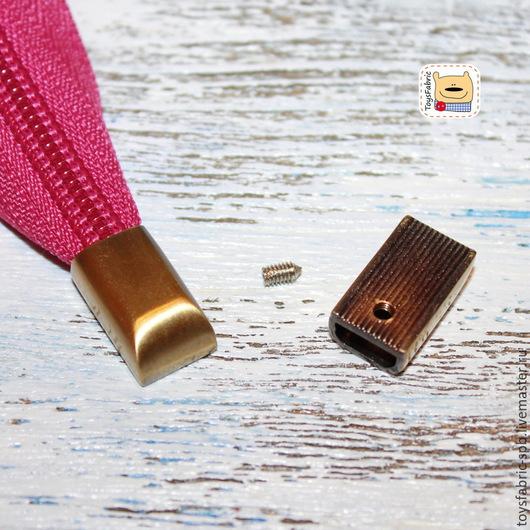Шитье ручной работы. Ярмарка Мастеров - ручная работа. Купить Наконечник на молнию металлический (антик) Греция (F10-A). Handmade.