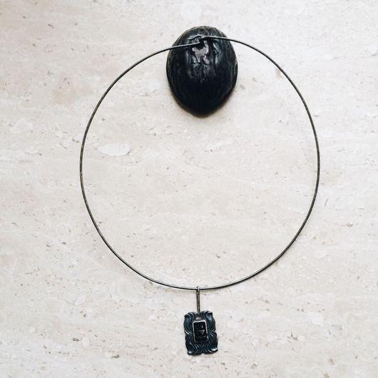 """Винтажные украшения. Ярмарка Мастеров - ручная работа. Купить Колье """"Дочь Посейдона"""", серебро 916 пробы, Таллин, Эстония, 1978 год. Handmade."""