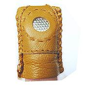 Материалы для творчества ручной работы. Ярмарка Мастеров - ручная работа Наперсток кожаный (Китай). Handmade.