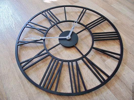 """Часы для дома ручной работы. Ярмарка Мастеров - ручная работа. Купить Настенные часы  """"Классика SLIM"""". Handmade. Черный"""