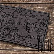 Обложки ручной работы. Ярмарка Мастеров - ручная работа Ведьмак - обложка на паспорт Карта Ведьмак. Handmade.