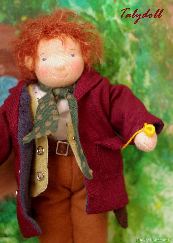 Вальдорфская игрушка: Бильбо Бэггинс, Вальдорфские куклы и звери, Тюмень,  Фото №1