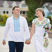 Одежда ручной работы. Ярмарка Мастеров - ручная работа Это Любовь!!! Вышивка , свадебное платье. Handmade.