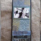 """Канцелярские товары ручной работы. Ярмарка Мастеров - ручная работа Закладки из коллекции """"Шерлок и Лондон"""" (№ 13). Handmade."""