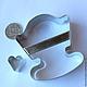 Другие виды рукоделия ручной работы. Ярмарка Мастеров - ручная работа. Купить Кроватка-колыбелька 3D. Резак, каттер, формочка. Handmade.