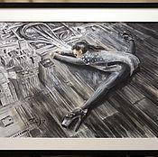 Картины и панно ручной работы. Ярмарка Мастеров - ручная работа Танец - это любимая метафора мира. Handmade.