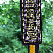 Русский стиль handmade. Livemaster - original item The hat is a purple Rubinic. Handmade.